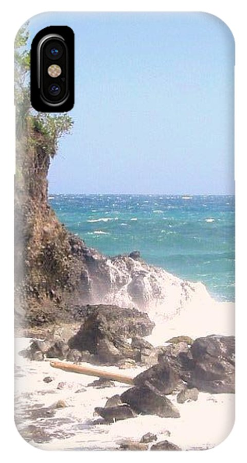 Dominica IPhone X Case featuring the photograph Dominica North Atlantic Coast by Ian MacDonald