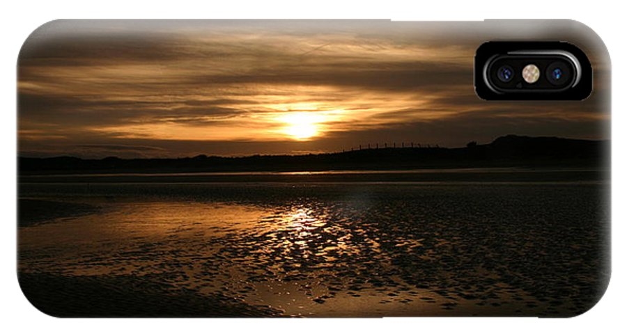 Donabate Strand IPhone X Case featuring the photograph Donabate Strand by Martina Fagan