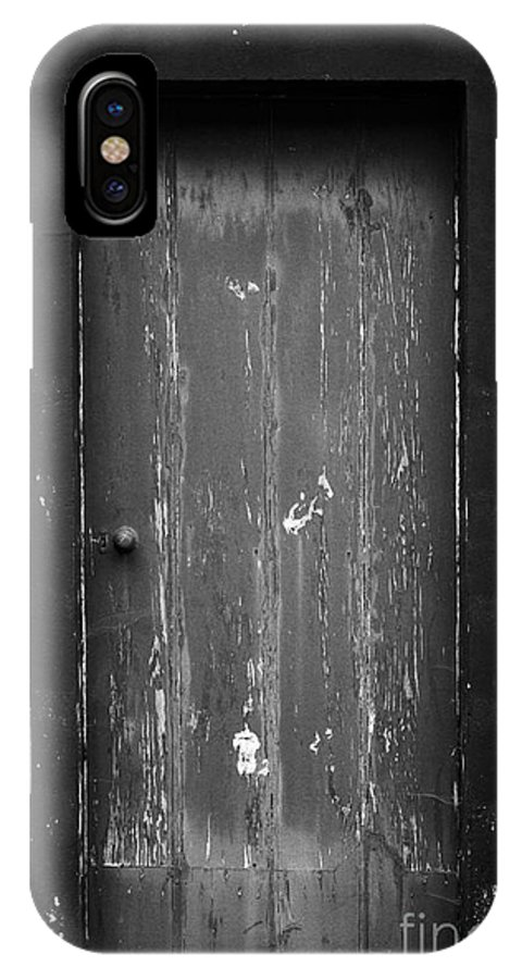 Closed IPhone X Case featuring the photograph Door by Gaspar Avila