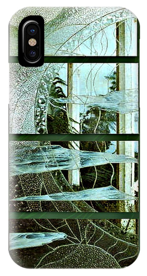 Photography Glass Landscape IPhone Case featuring the photograph 'door To The Universe' by Sarah King