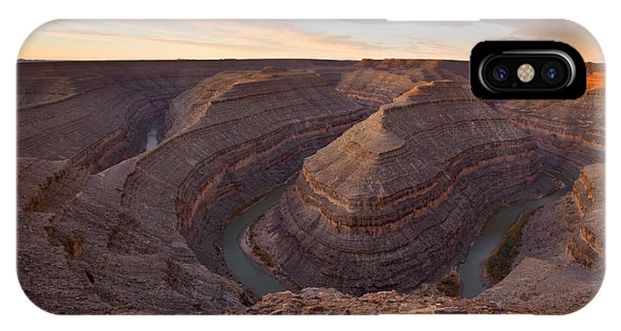 Goosenecks State Park IPhone Case featuring the photograph Doubleback by Mike Dawson