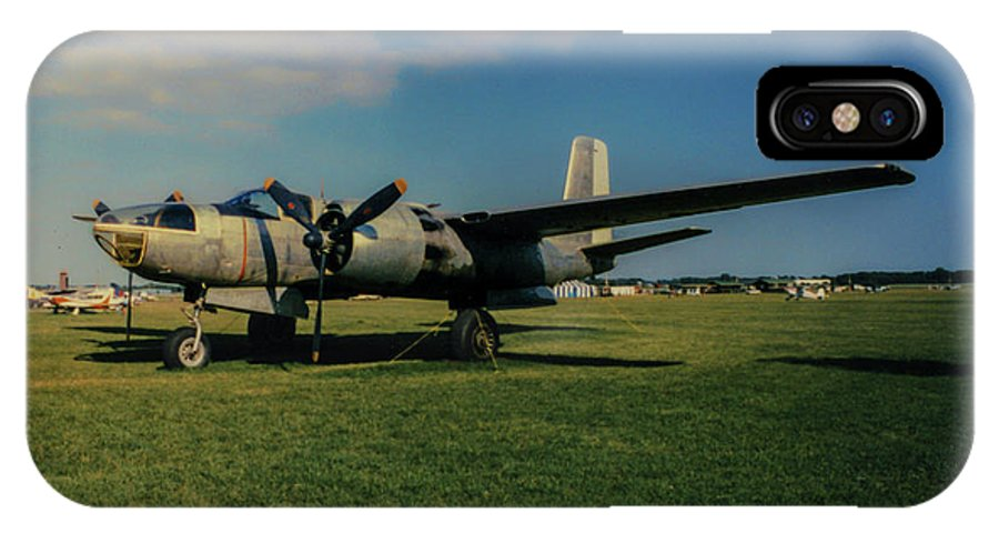 Douglas A-26 Invader IPhone X Case featuring the photograph Douglas A-26 Invader Eaa by Tommy Anderson