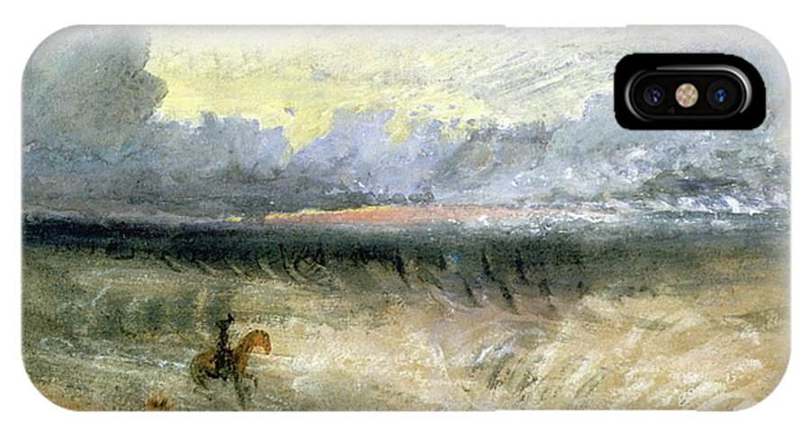 Dover IPhone X Case featuring the painting Dover by Joseph Mallord William Turner