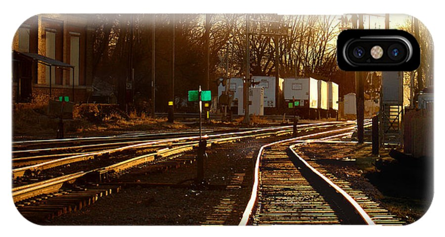 Landscape IPhone Case featuring the photograph Down The Right Track 2 by Steve Karol