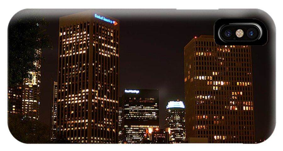 Clay IPhone Case featuring the photograph Downtown L.a. In Hdr by Clayton Bruster