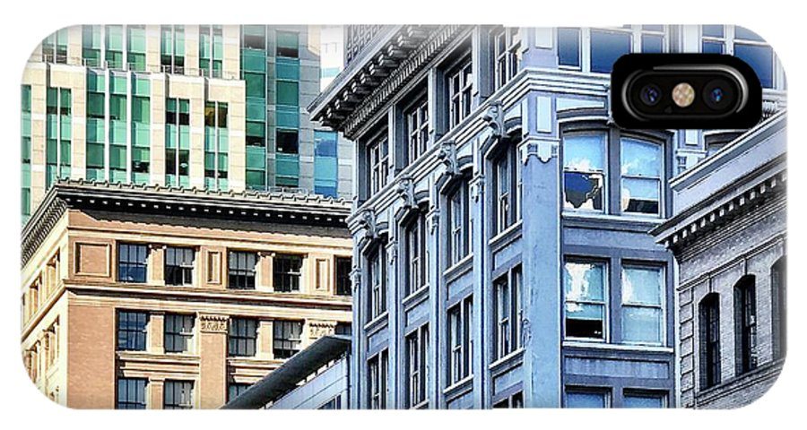 IPhone X Case featuring the photograph Downtown San Francisco by Julie Gebhardt