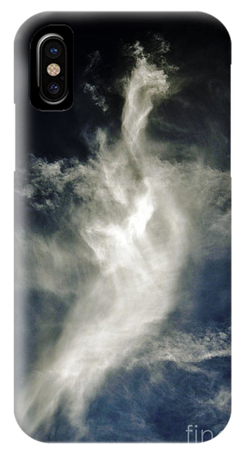 Clay IPhone X Case featuring the photograph Dragon Cloud by Clayton Bruster
