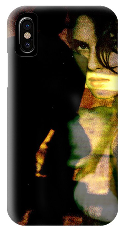 Mystery IPhone Case featuring the digital art Drama After Dark by Seth Weaver