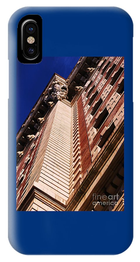 Belvedere Art Baltimore Outdoors Dramatic Angle Architectural Landmark Looking Up Iconic Image Building Windows Vertical Mount Vernon Poster Print Metal Frame Highly Recommended Canvas Print Very Suitable Available On Duvet Covers Phone Cases Throw Pillows Tote Bags Shower Curtains And T Shirts IPhone X Case featuring the photograph Drama Of The Belvedere by Marcus Dagan