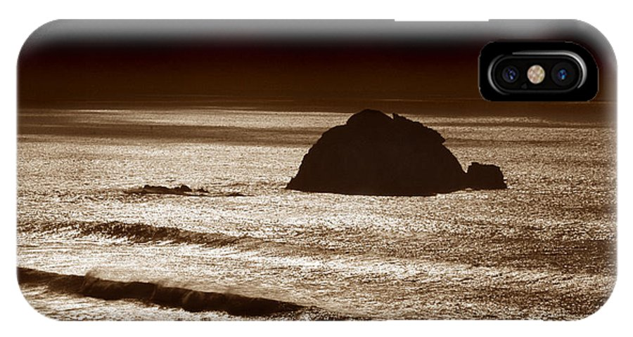 Big Sur IPhone X Case featuring the photograph Drama On Big Sur by Michael Ziegler