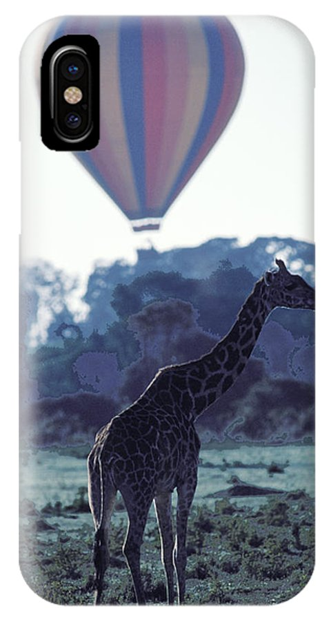 Hot IPhone X Case featuring the photograph Dream Adventure In Kenya by Carl Purcell