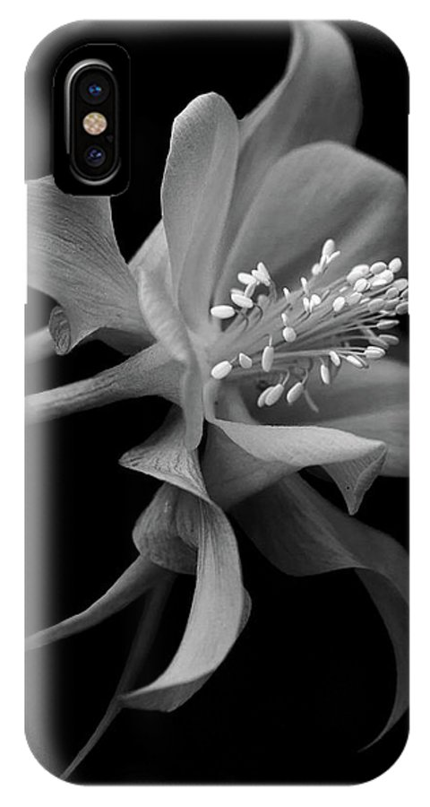 Columbine IPhone X Case featuring the photograph Dreamy Columbine by Robert Pilkington