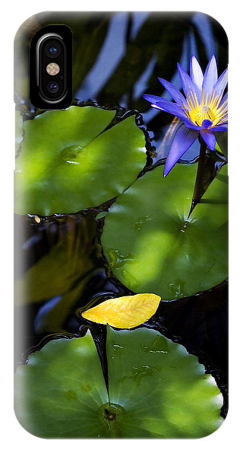 Lotus IPhone X Case featuring the photograph Dreamy Lotus by Marilyn Hunt