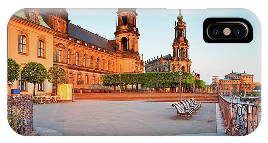 Germany IPhone X / XS Case featuring the photograph dresden 'II by Milan Gonda