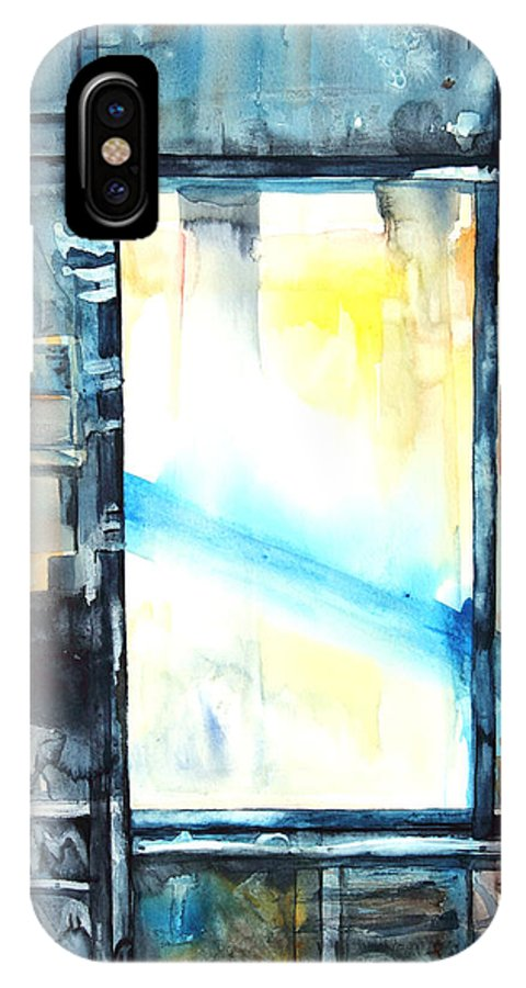 Window IPhone X / XS Case featuring the painting Drift Dream I Was There by Patricia Allingham Carlson