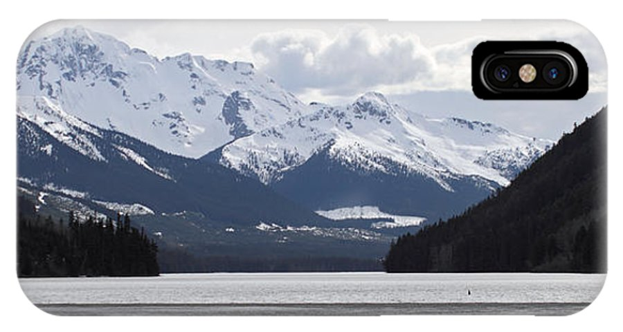 Duffy IPhone X Case featuring the photograph Duffy Lake Scenery by Pierre Leclerc Photography