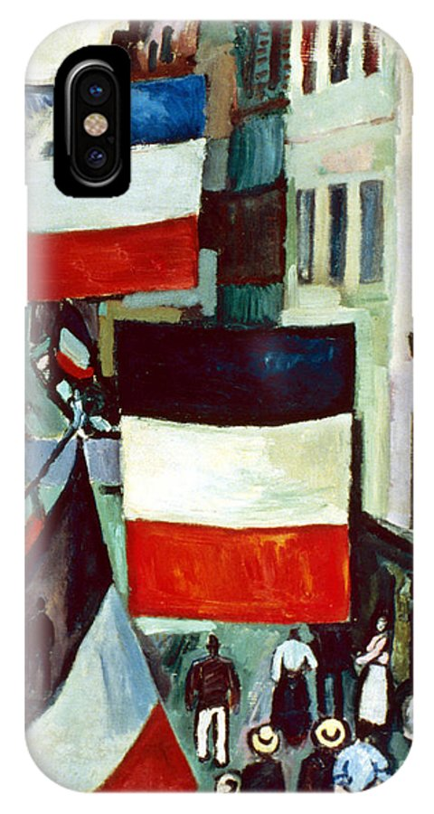 1906 IPhone X Case featuring the photograph Dufy: Flags, 1906 by Granger