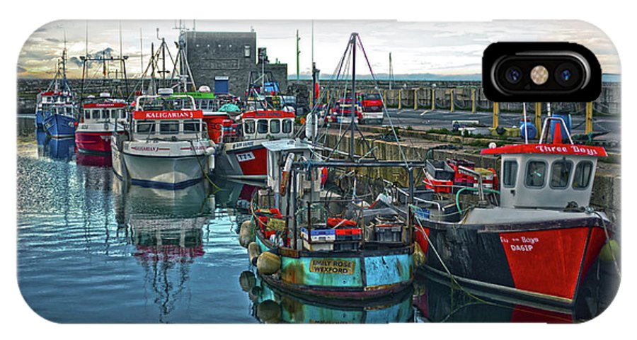 Dun Laoghaire IPhone X Case featuring the photograph Dun Laoghaire 15 by Alex Art and Photo