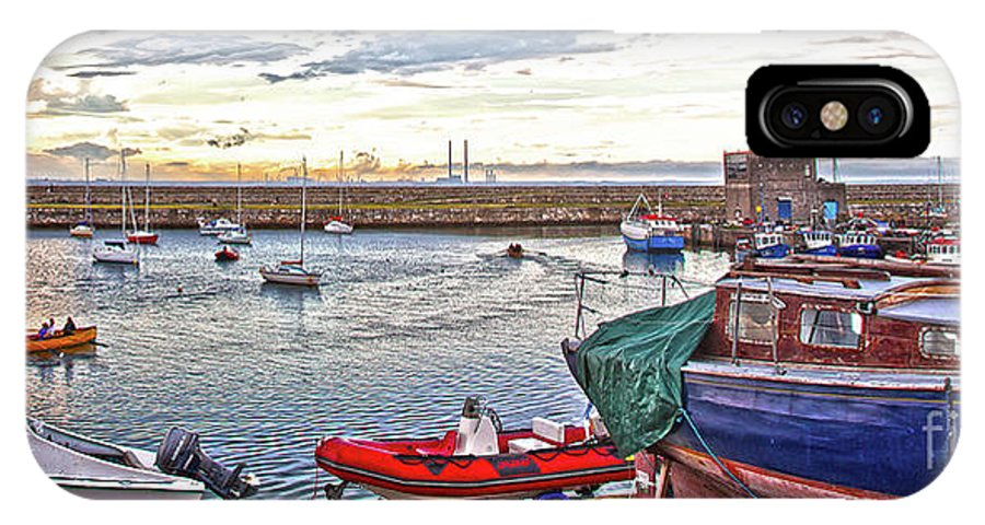 Dun Laoghaire IPhone X Case featuring the photograph Dun Laoghaire 19 by Alex Art and Photo