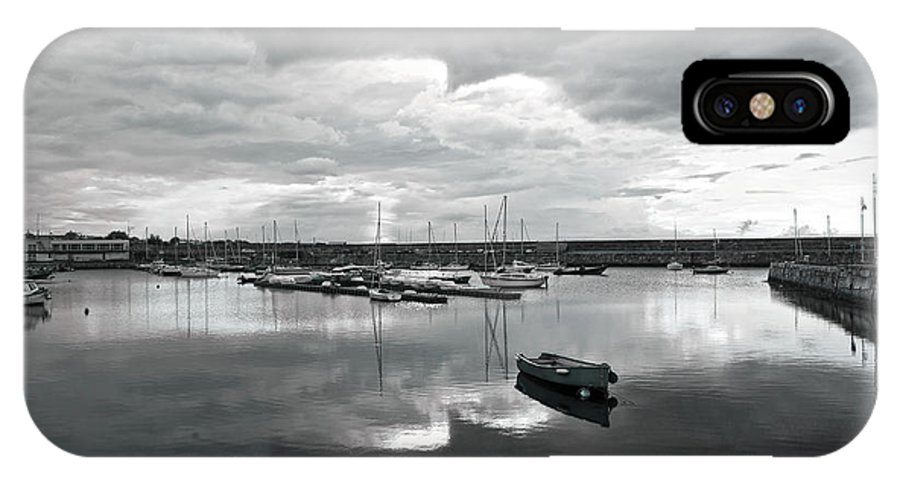 Dun Laoghaire IPhone X Case featuring the photograph Dun Laoghaire 21 by Alex Art and Photo