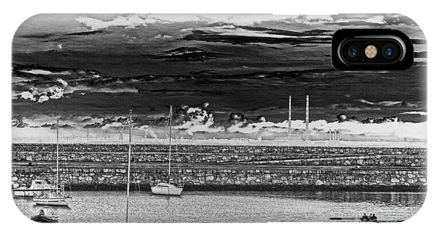 Dun Laoghaire IPhone X Case featuring the photograph Dun Laoghaire 23 by Alex Art and Photo