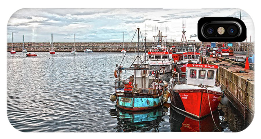 Dun Laoghaire IPhone X Case featuring the photograph Dun Laoghaire 27 by Alex Art and Photo