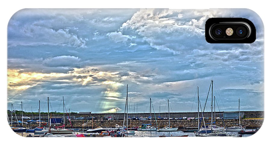 Dun Laoghaire IPhone X Case featuring the photograph Dun Laoghaire 32 by Alex Art and Photo