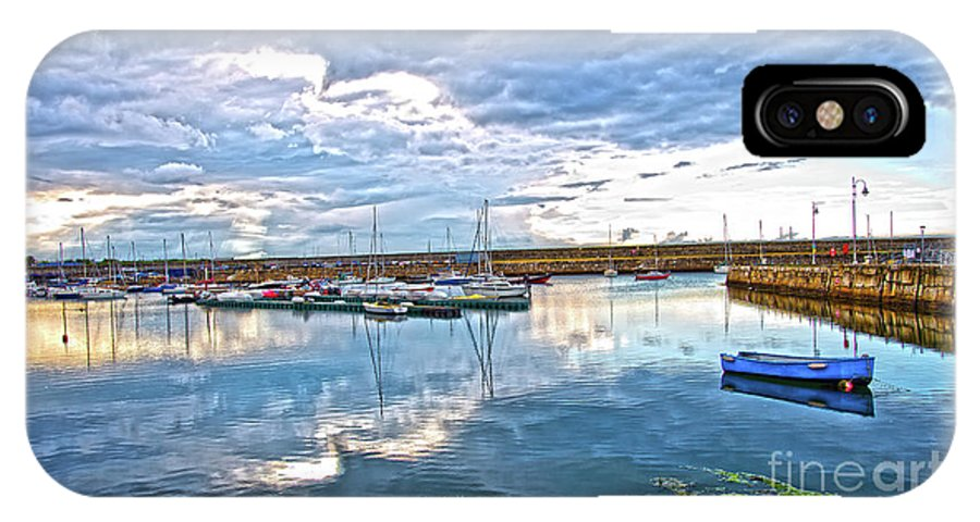 Dun Laoghaire IPhone X Case featuring the photograph Dun Laoghaire 37 by Alex Art and Photo