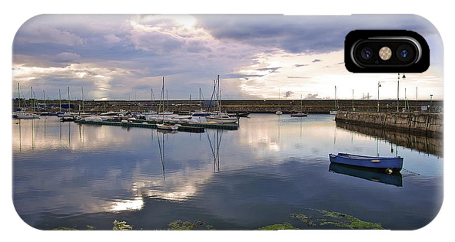 Dun Laoghaire IPhone X Case featuring the photograph Dun Laoghaire 43 by Alex Art and Photo