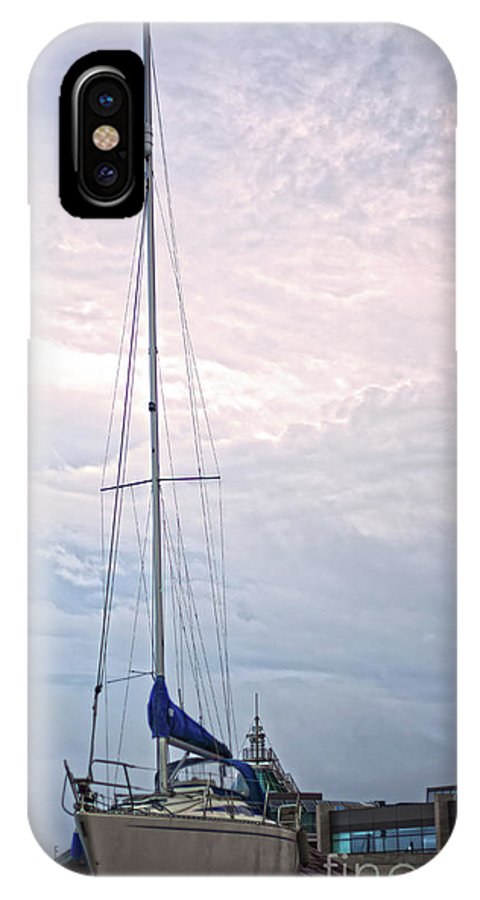 Dun Laoghaire IPhone X Case featuring the photograph Dun Laoghaire 6 by Alex Art and Photo