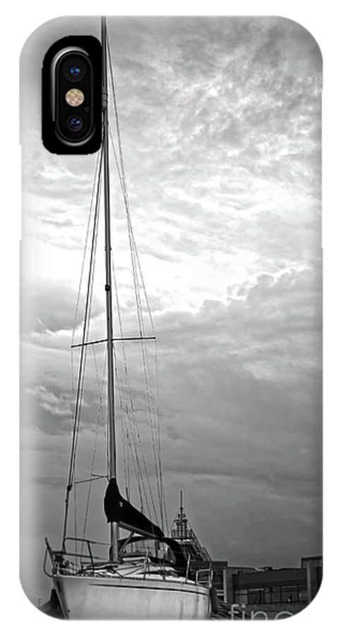Dun Laoghaire IPhone X Case featuring the photograph Dun Laoghaire 7 by Alex Art and Photo