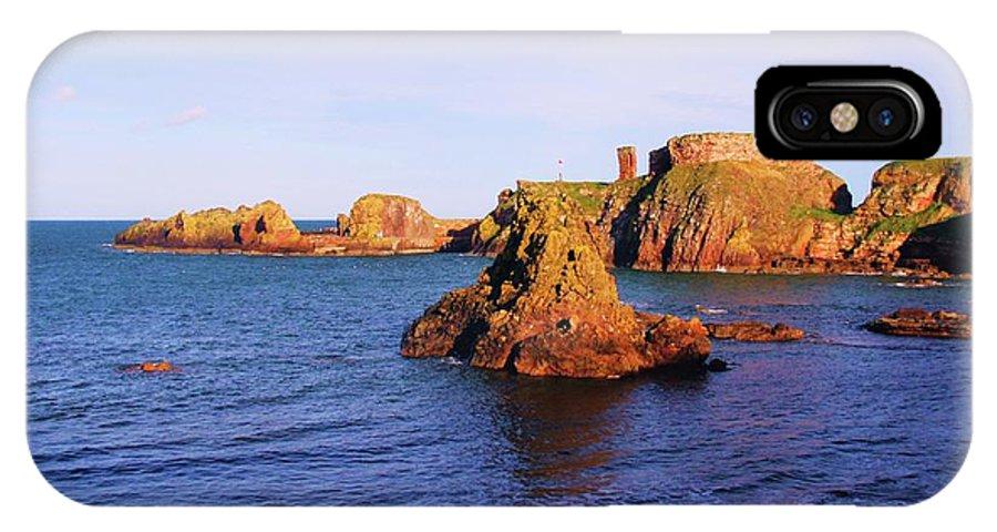 Nik Watt IPhone X Case featuring the photograph Dunbar Coast by Nik Watt