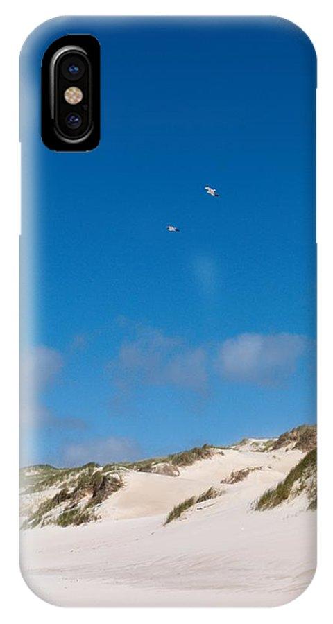 Lehtokukka IPhone X Case featuring the photograph Dunes Of Danmark 1 by Jouko Lehto
