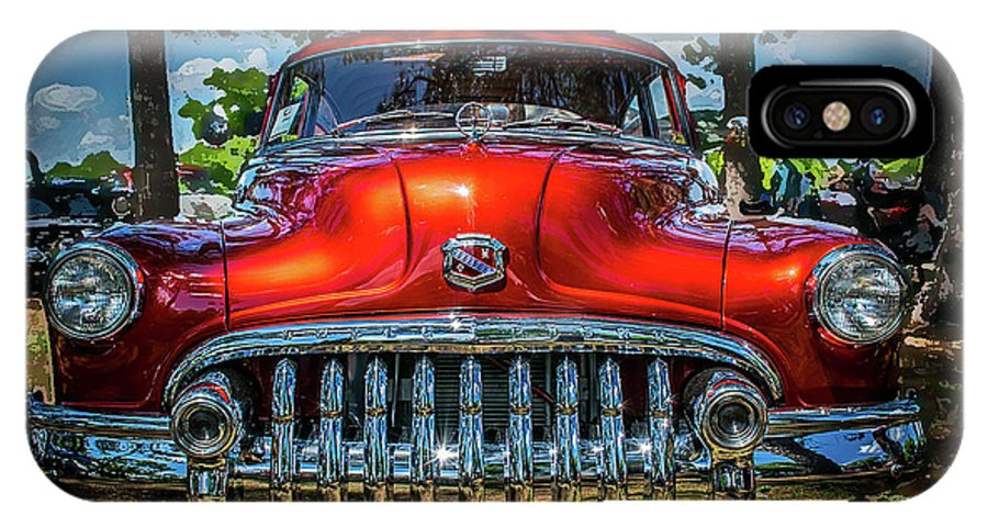 1951 Buick Dynaflo IPhone X Case featuring the photograph Dynoflo by Kenny Kunzman