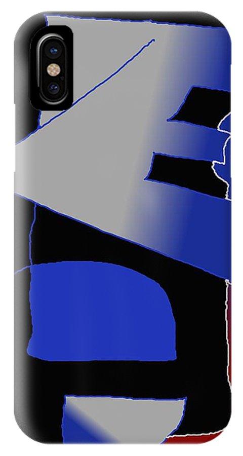 Eu IPhone Case featuring the digital art E-likes-eu by Helmut Rottler