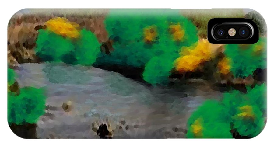 Landscape IPhone Case featuring the digital art Early Autumn by Dr Loifer Vladimir