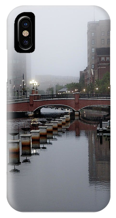 Fog IPhone X Case featuring the photograph Early Morning Fog by Barry Doherty
