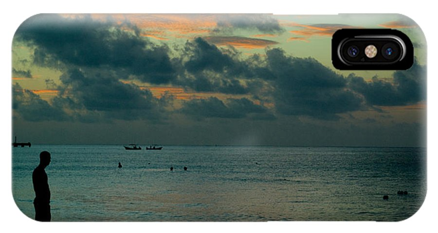 Sea IPhone X Case featuring the photograph Early Morning Sea by Douglas Barnett