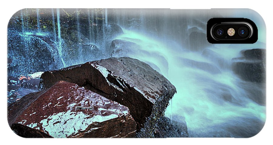 East Gill Force IPhone X / XS Case featuring the photograph East Gill Force by Smart Aviation