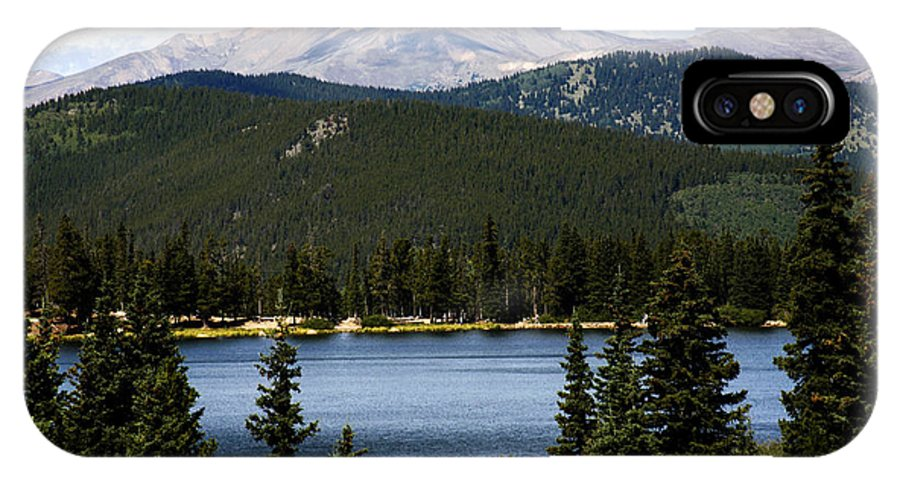 Colorado IPhone X Case featuring the photograph Echo Lake Colorado by Marilyn Hunt