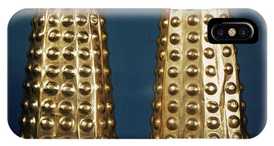 Antique IPhone X Case featuring the photograph Ecuador: Gold Cuffs by Granger