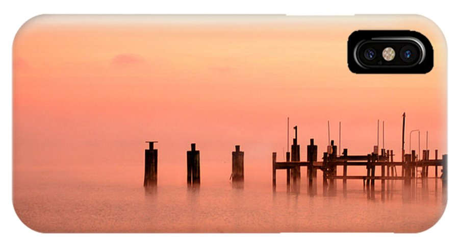 Clay IPhone X Case featuring the photograph Eery Morn by Clayton Bruster