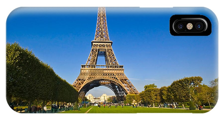 IPhone X Case featuring the photograph Eiffel Tower by Charuhas Images