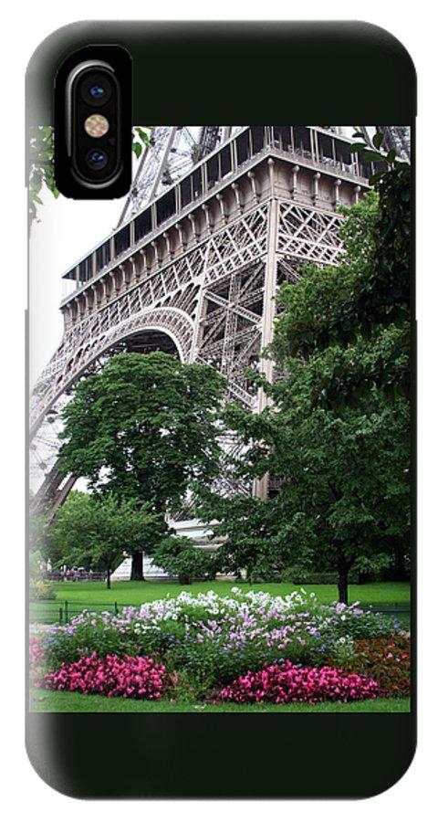 Eiffel IPhone Case featuring the photograph Eiffel Tower Garden by Margie Wildblood