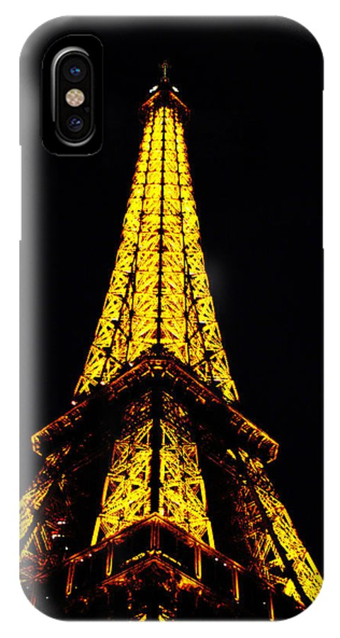 Eiffel Tower IPhone X Case featuring the photograph Eiffel Tower by Jeff Barrett