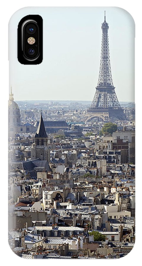 Eiffel Tower IPhone X Case featuring the photograph Eiffel Tower Paris France by Pierre Leclerc Photography
