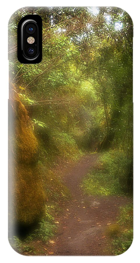 Path IPhone X Case featuring the photograph El Camino by Patrick Klauss