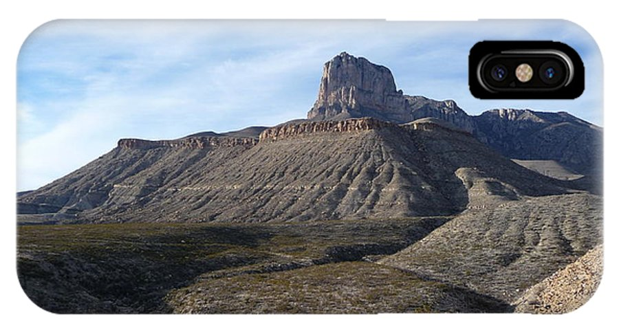 Guadalupe Mountains National Park IPhone X Case featuring the photograph El Capitan - Guadalupe Mountains National Park by Joel Deutsch
