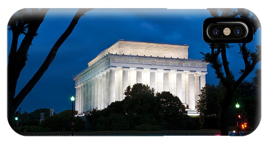 Washington Dc IPhone X Case featuring the photograph Electric Blue by Ken Howard