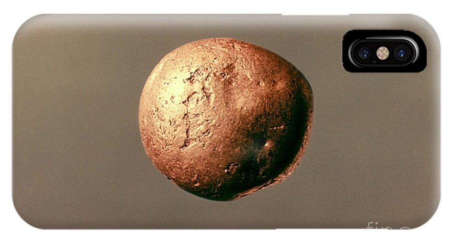 1100 B.c. IPhone X Case featuring the photograph Electrum Nugget, C1100 B.c by Granger